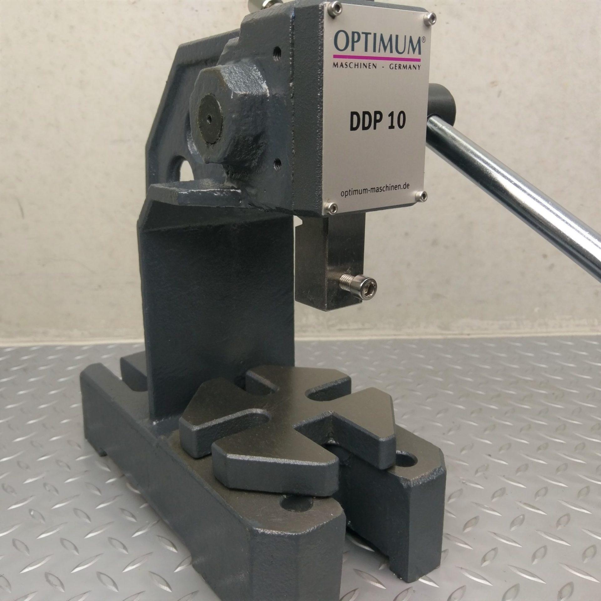 Optimum 1 Ton Arbor Press Redfoxmachinery