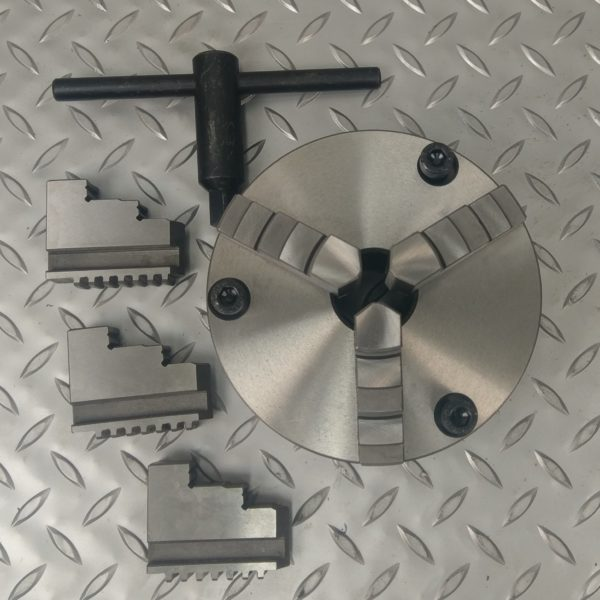 METEX 3 Jaw Self Centering Lathe Chuck 5 125mm- Rotary Table Milling Machine