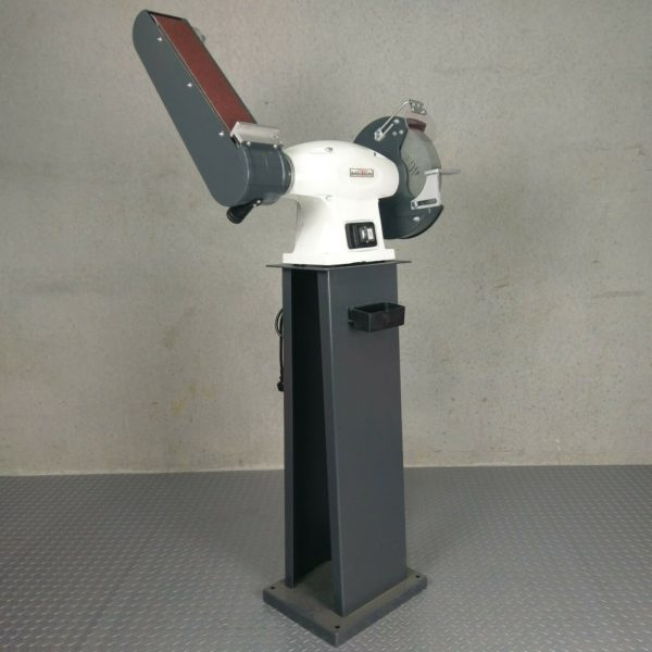 METEX-Industrial-250mm-Combo-Bench-Grinder-Linisher-Belt-Sander-with-Stand-1500w-282733027220