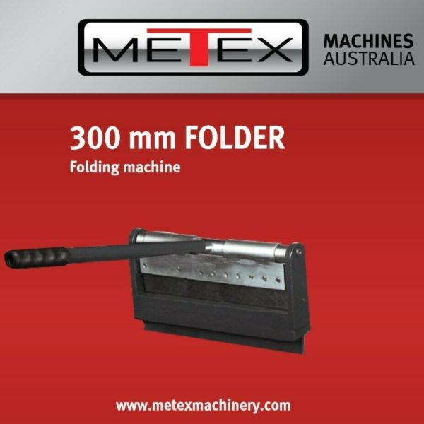 Sheet-Metal-Folder-METEX-300mm-Vice-Held-Sheetmetal-Bender-Press-Pan-brake-281890894952