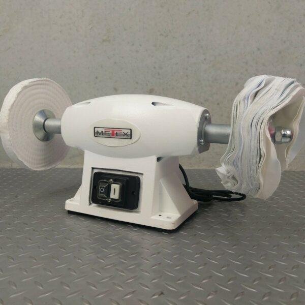 Polisher-Buffer-METEX-200mm-polish-polishing-machine-buff-metal-stone-bench-282331890685