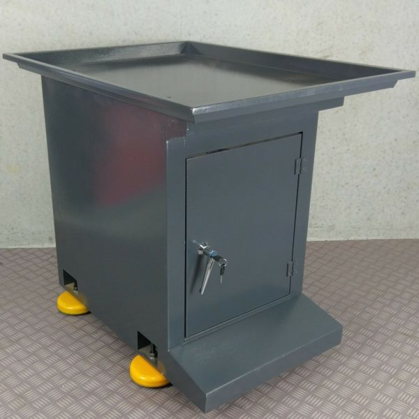 Universal-Milling-Machine-Stand-with-Locking-Cabinet-Swarf-Tray-METEX-Quality-272933816855