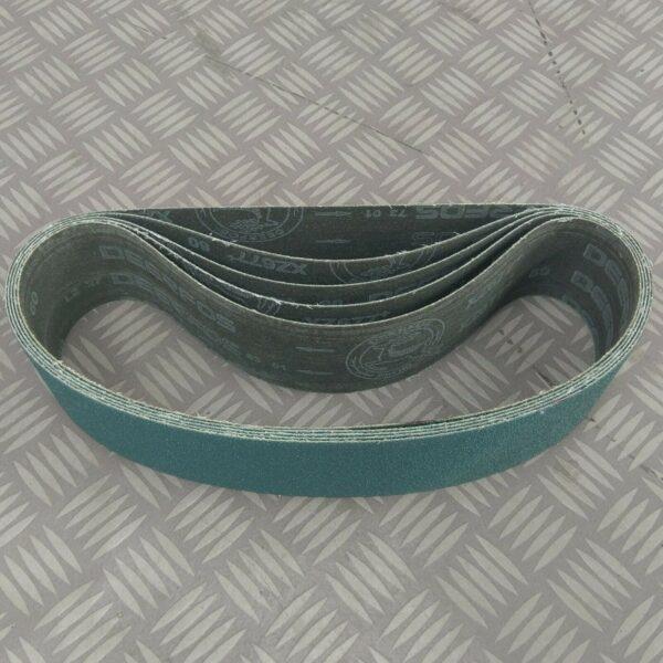 5x-Sanding-Linishing-Belt-75mm-x-762mm-60-grit-Linisher-Grinder-Sander-Belts-282857447366