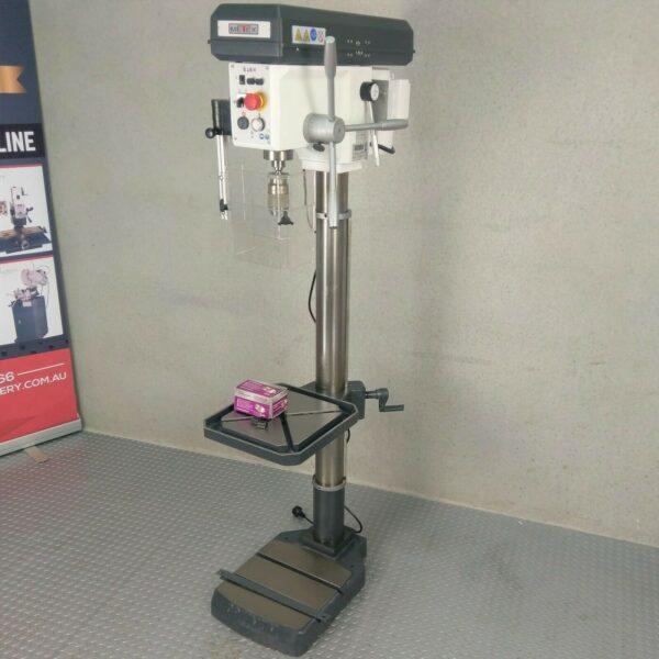 Industrial-Pedestal-Drill-Press-METEX-by-OPTIMUM-B28H-with-Free-Keyless-Chuck-272556540526