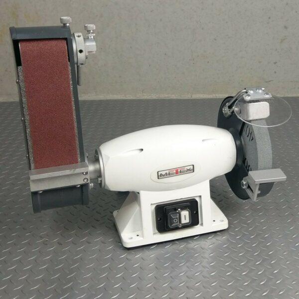 Belt-Sander-Linisher-Grinder-Combo-METEX-600-watt-Metal-Wood-Work-Sanding-281756298858