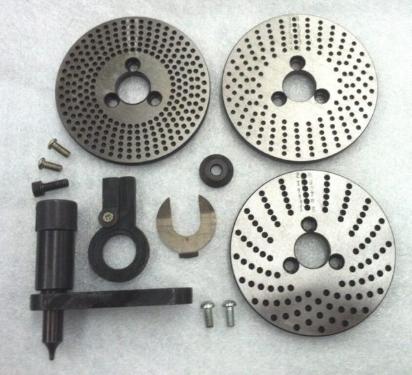 Dividing-Plates-Set-for-Rotary-Table-HV6-150mm-Milling-Machine-Steel-Precision-282742056789