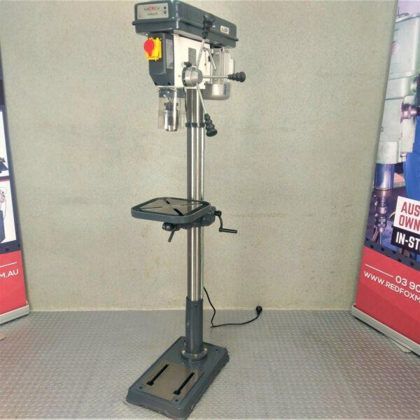 Pedestal-Drill-Press-25mm-METEX-by-OPTIMUM-550w-12-Speed-Wood-Metal-Drilling-272638017789